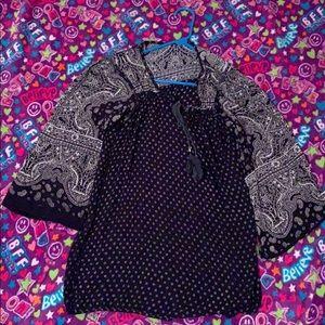 A flowey dress